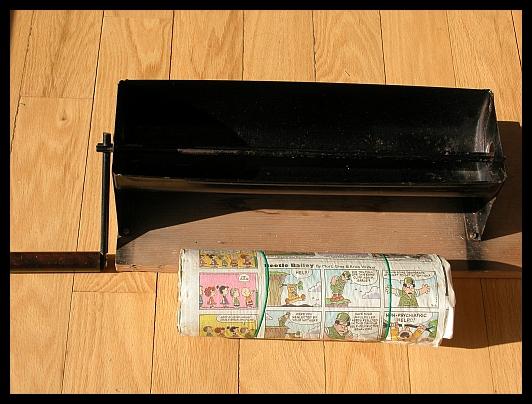 Paper Log Roller