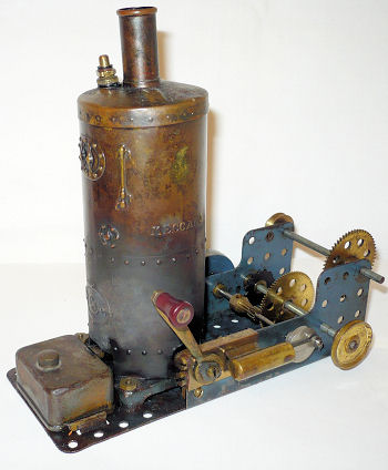 Meccano Steam Engine